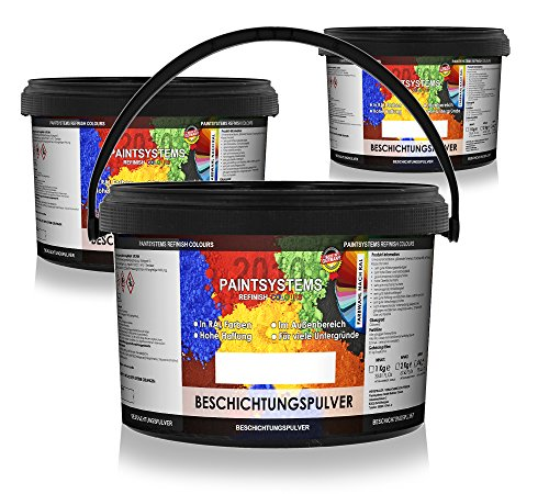 PAINTSYSTEMS REFINISH COLOURS Pulverlack PE DB 703 semi matt 2kg