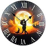 Reloj de Pared Diseno Reloj de Cocina decoracion (Sirene)
