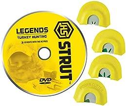 Hunters Specialties H.S. Strut Legends 4 Turkey Diaphragm Combo Pack