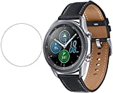 Designed to Fit : This Screen Protector is specially Compatible for the New Samsung Galaxy Watch 3 41mm 2020 released, Galaxy Watch 42mm, will not fit for any other watches. Rounded edges for flawless integration and smooth feel Precise laser cut Gla...
