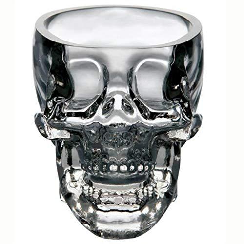 LIAOLEI10 sculptuur Creatieve Kristallen Schedel Cup Wodka Glas Schedel Wijn Glas Bar KTV Kerst Vakantie benodigdheden