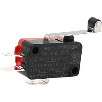 Industrie-Schalter MIKRO SCHALTER MICRO SWITCH 16A 250V Wechsler ...