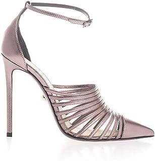ALEVÌ Luxury Fashion Womens CAROL110SHINESTEEL Pink Sandals | Fall Winter 19