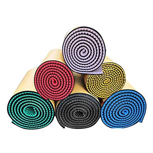 WXQIANG 05.03 Meter Platz, Mehrzweck Metope Akustikplatten Baumwolle Innen KTV Recording Studio-weiche Schlafzimmer-Trommel-Raum-Studio Schallabsorbierende (Color : Orange, Size : 3M)