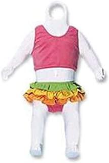 Economy Infant White Plastic Fashion Form - Fits Infant Sized Clothing
