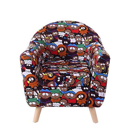HAKN Sofa d'enfants, petit sofa mignon de dessin animé de siège de sofa de bébé mignon (Couleur : Big-eyed)