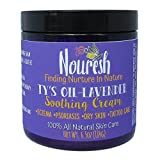 Ty's Oil -Lavender - 6.5oz Soothing Salve for Eczema and Psoriasis, Wonderful All Natural Remedy for Dermatitis, Dry Itchy Skin, Diaper Rash, Post Tattoo Relief, Irritation Due to Radiation Therapy