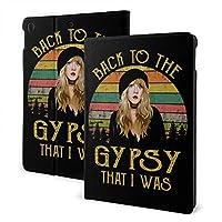 CSHQ Fleetwood Mac フリートウッド・マック Back to The Gypsy That I was タブレット ケース iPad 7th /iPad Air3/ iPad Air pro 対応用ハードカバー 三つ折りスタンド スマートケース 10.2/10.5 インチ 適用 防止開閉式 衝撃吸収 オートスリープ/ウェイク PU レザーカバー ,