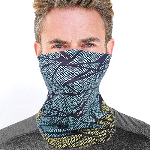 No More Sweat Fast Dry Extreme Soft Skin Touch Feeling Fabric Cordiart SCAVOR Cooling Hankerchief Bandana Cool Scarf Neck Wrap for Running Fishing Hiking Riding