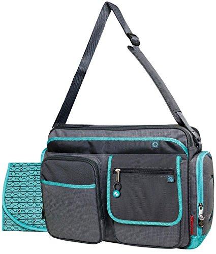 Fisher Price Organizer Diaper Bag - Grey