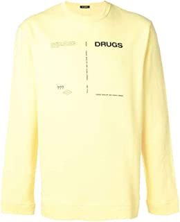 adidas Luxury Fashion Mens 1821671900400015 Yellow Sweatshirt | Spring Summer 19