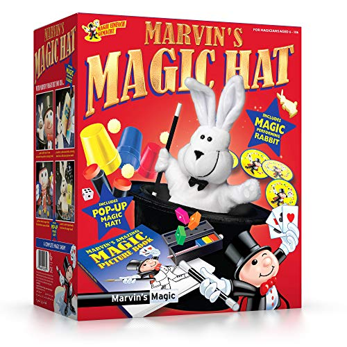 Marvin's Magic Rabbit & Top Hat, Multicolor (MME 003)