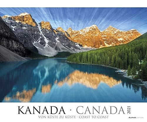 Kanada 2021 - Bild-Kalender XXL 60x50 cm - Canada - Landschaftskalender - Natur-Kalender - Wand-Kalender - Gebirge - Alpha Edition