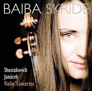 Shostakovich/Janacek: Violinkonzerte