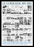 Germanposters Le Corbusier Realisations et projets Poster