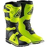 Answer Racing Ar1 - Botas de moto todoterreno para adultos, hiperácido, negro, 10