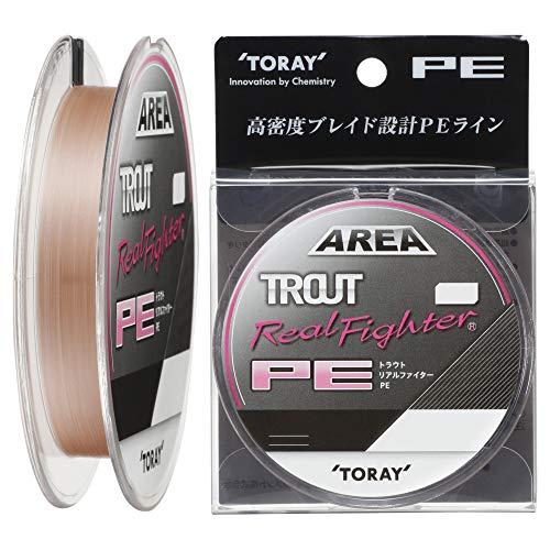 東レ(TORAY) ライン トラウトリアルファイター PE 100m 0.2号