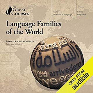 Page de couverture de Language Families of the World