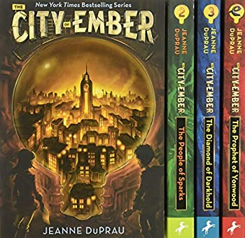 The City of Ember / The People of Sparks / The Prophet of Yonwood / The Diamond of Darkhold 0399551646 Book Cover