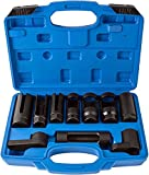Juego de tuercas para sonda lambda de 10 piezas, juego de llaves de tubo para sonda lambda, herramienta 22/27/29mm