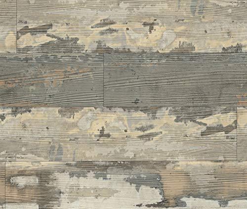 HORI® Klick-Vinylboden Fantasy Landhausdiele bunt Chalet shabby I für 19,73 €/m²