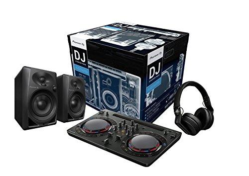 Pioneer DJ–Starter Kit für DJ (incl. ddj-wego4schwarz, 2x dm-40, hdj-700schwarz)