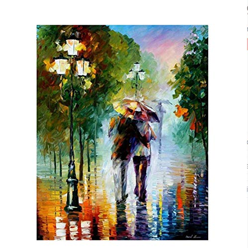 Fvfbd Dibujado a Mano Amazon DIY Canvas Painting by Numbers