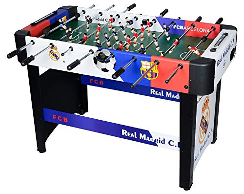 STEP OVER (Limited Edition) Wood-Composite Premium Foosball / Soccer / Football Table Heavy Duty (Best Selling Edition) Blue