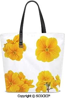 SCOCICI Women Tote Shoulder Bags Gardening Themed Collection Ladies Handbag