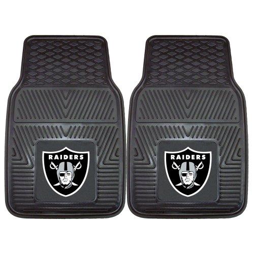 FANMATS 8774 NFL Oakland Raiders Vinyl Heavy Duty Car Mat,18'x27'