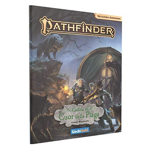 Giochi Uniti- Pathfinder Seconda Edizione Caduta di Cuor della Piaga d Gioco di Ruoloa Tavolo, Multicolore, GU3602