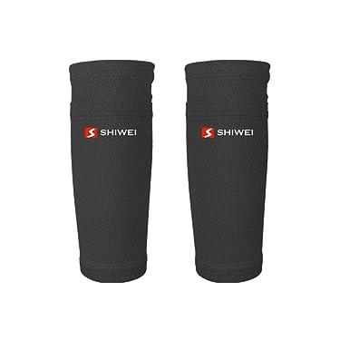 Undefined - Un par de leggings de fútbol para protección de pantorrilla, calcetines, calcetines de fútbol para adultos y niños, Z0824