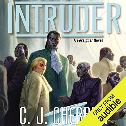 Intruder audiobook cover art