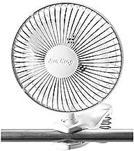 Air King Clip Fan, White