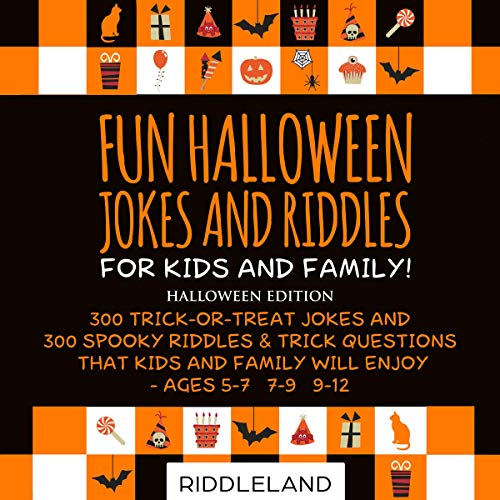 Fun Halloween Jokes and Riddles for Kids and Family - Halloween Edition cover art