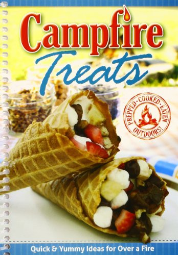 G & R Publishing Campfire Treats by CQ Products, Spiral-bound