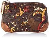 piero guidi Cosmetic Bag, Pochette da Giorno Donna, (Marrone), 13x5x2 cm (W x H x L)