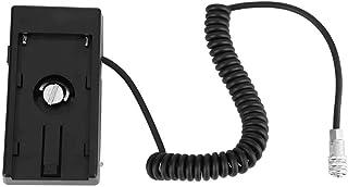 NP-F970バッテリープレートバックリングボード用電源アダプターケーブルでカメラ4Kムービーカメラに給電