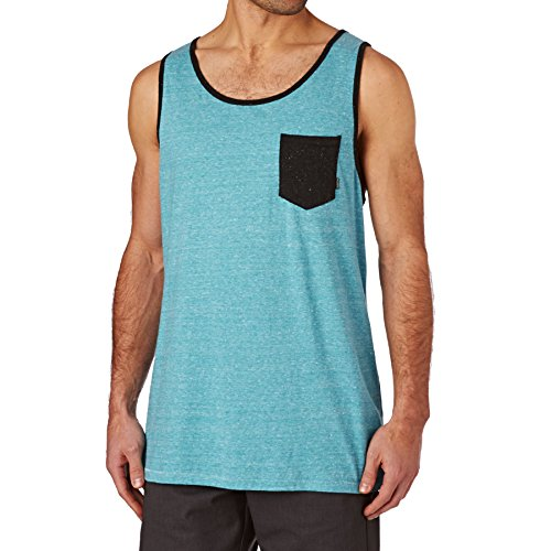 BILLABONG All Day Contrast TK T-Shirt Homme, Bleu, FR : L (Taille Fabricant : L)