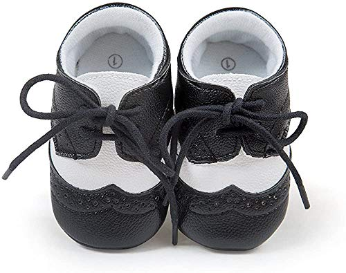 Matt Keely Baby Jungen Mädchen Weiche Sohle Turnschuhe Kind PU Schnüren Schuhe 12-18 Monate