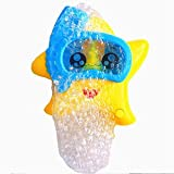 LPing Schaumbadmaschine,elektrische Schaummaschine,Bubble Starfish Babybadespielzeug Badeschaum...