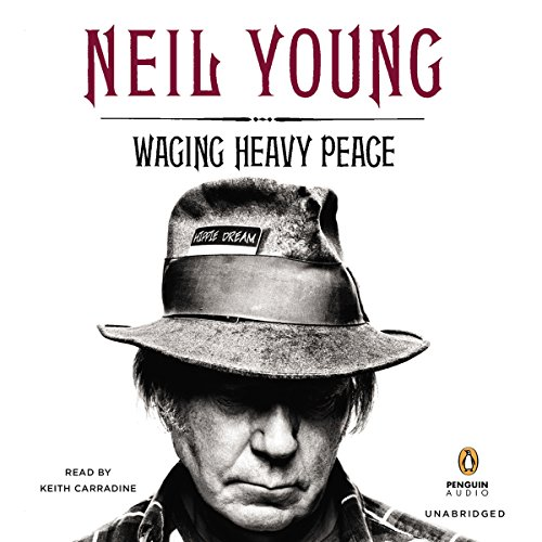 Waging Heavy Peace audiobook cover art