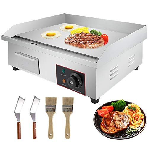Amazing Deal Enjoy Perfectly Machine Electric Grilled Commercial 3000 Watt. 22 Hot Plate Multiple C...