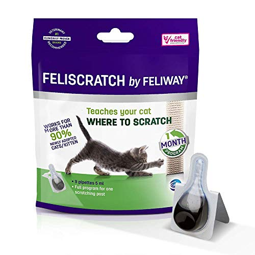 FELIWAY Ceva C72020E Feliscratch - 9 Pipetas de 5 ml