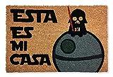 KOKO DOORMATS felpudos Entrada casa Originales, Fibra de Coco y PVC, Felpudo Exterior Friki Esta es mi Casa, 40x60x1.5 cm | Alfombra Puerta Entrada casa Exterior | Felpudos Divertidos para Puerta