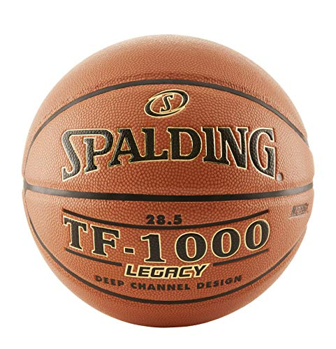 Spalding TF-1000 Legacy Basketball, Orange, Intermediate and Weight: Size 6, 28.5