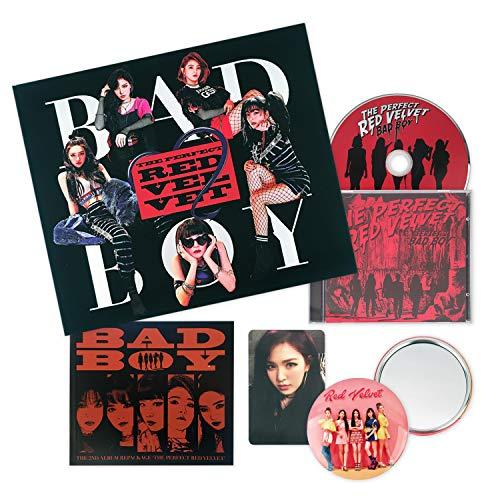 RED VELVET 2nd Repackage Album - [ BAD BOY : THE PERFECT RED VELVET ] CD + PhotoBook + PhotoCard + FREE GIFT / K-POP Sealed
