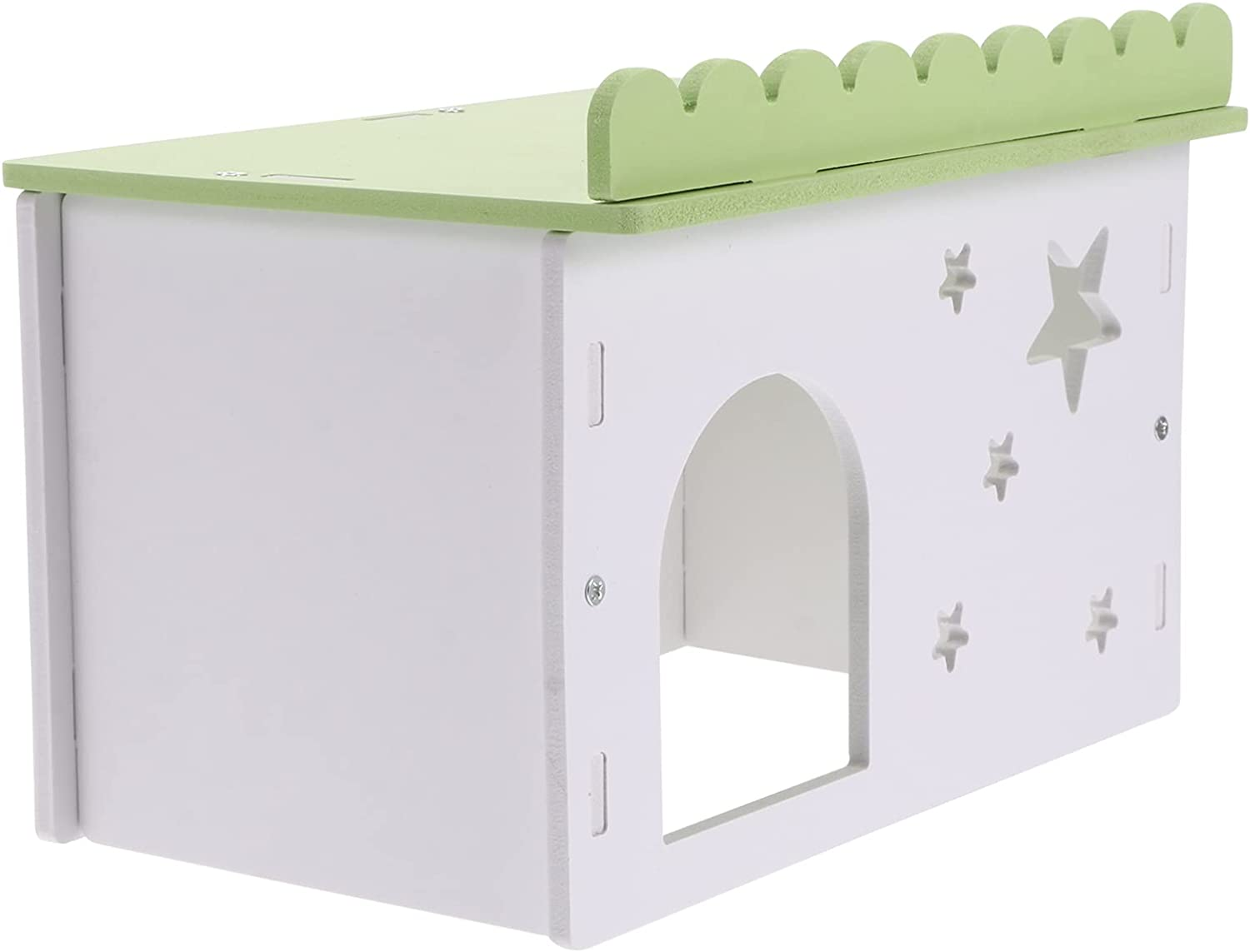balacoo Wooden Hamster House Woodland Animal Small Hideout Cool supreme Department store