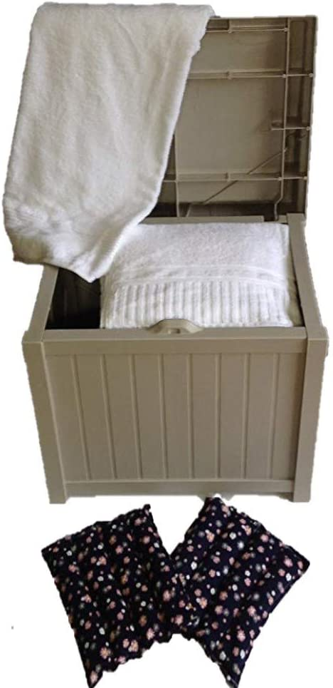 Cover Guard Hot Tub 卓越 Towel and Warmer Robe 全商品オープニング価格 Deck Box Microwav with