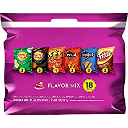 Frito-Lay Flavor Mix Variety Pack, 18Count